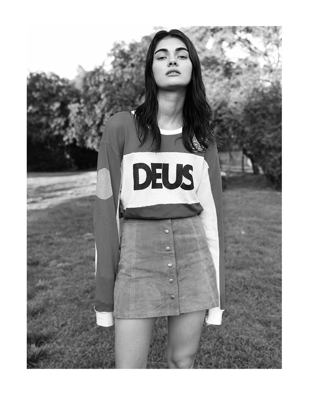 Antonina Vasylchenko poses for The Athenians editorial.