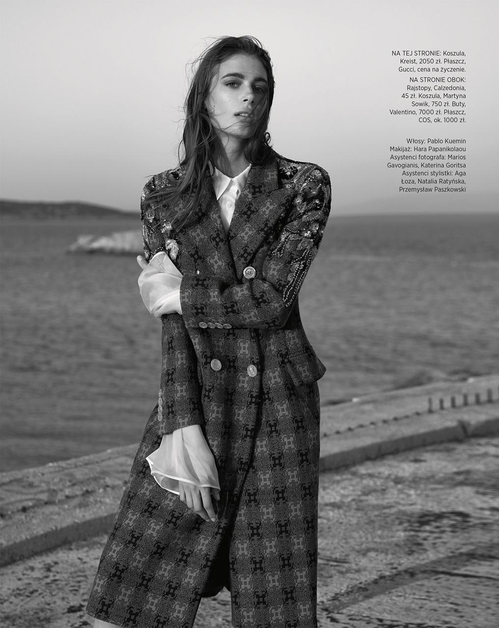 Stunning Claire de Regge for Harper's Bazaar Poland.