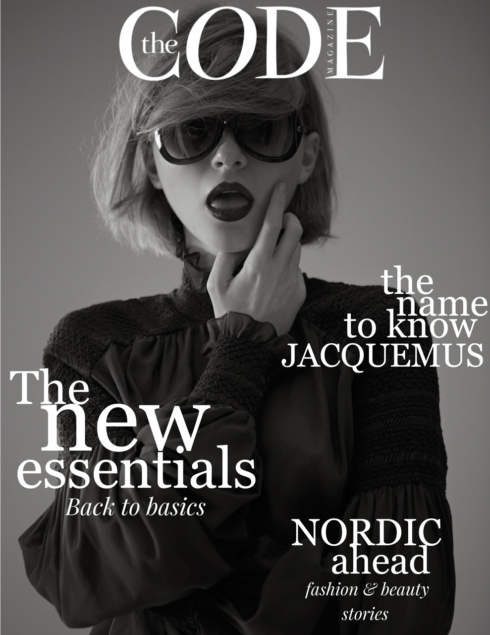 Daga Jez covers the new issue of The Code Mag.