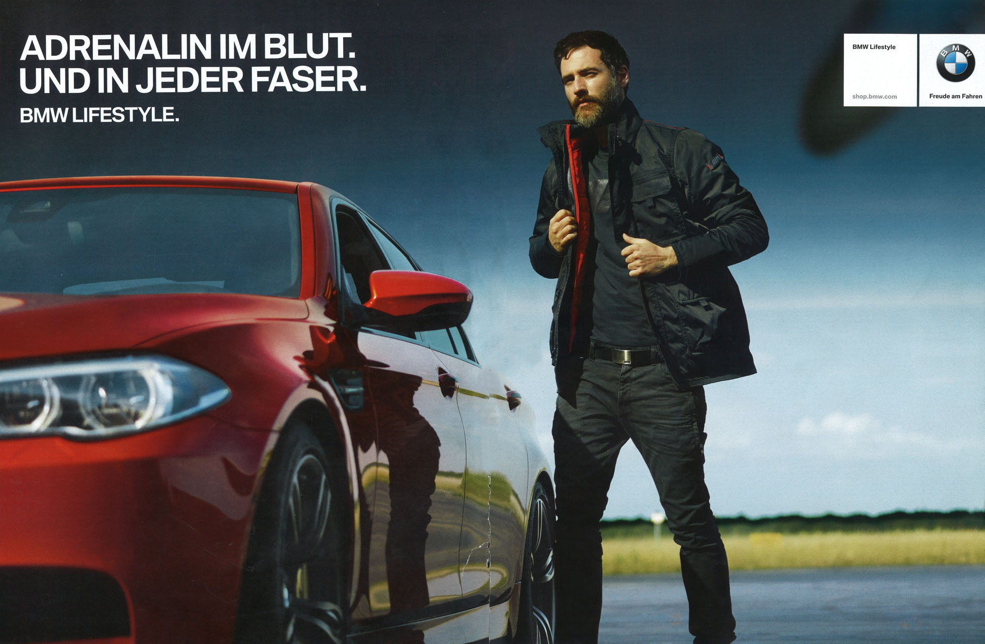 Panagiotis Simopoulos being easyrider for BMW.