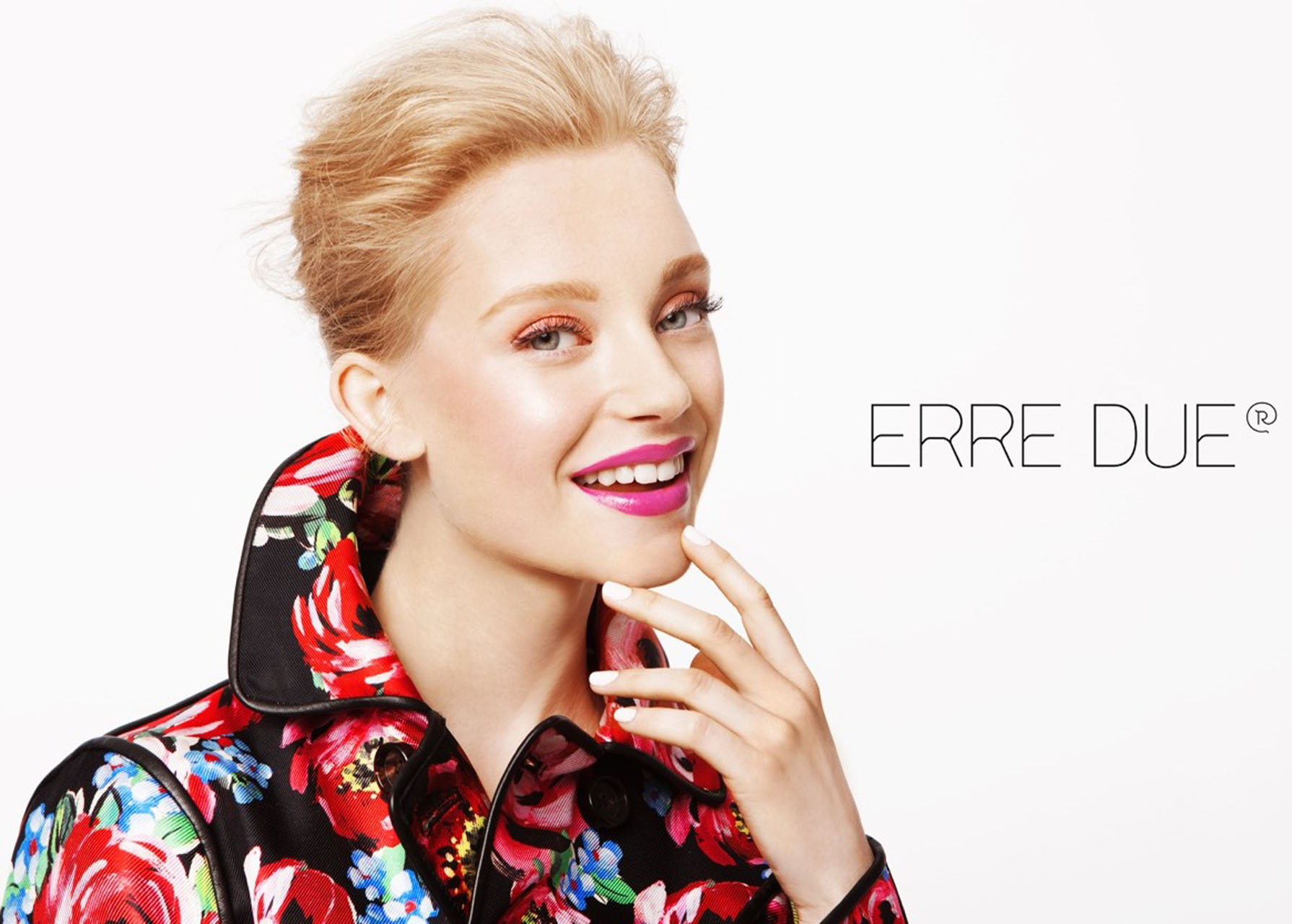 What a beauty! Jeske Van Der Pal is the face of Erre Due.