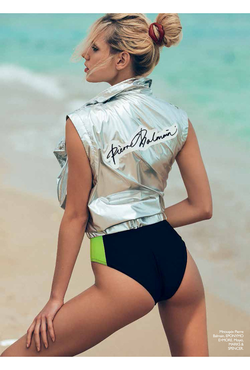 Jenny Severynenko didn't turn back to summer for Madame Figaro.