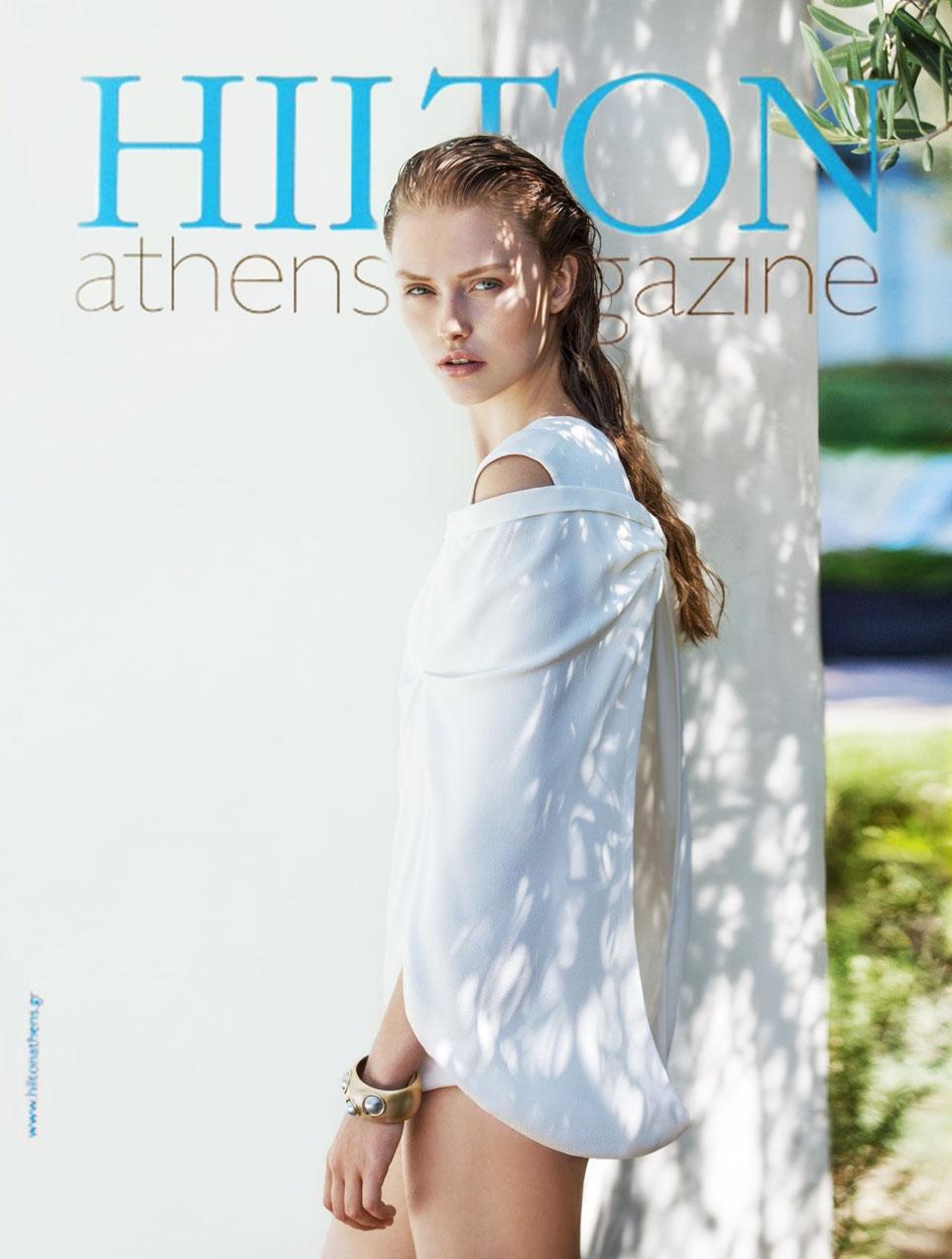 Cover girl :Lia Mundeling for Hilton Mag.