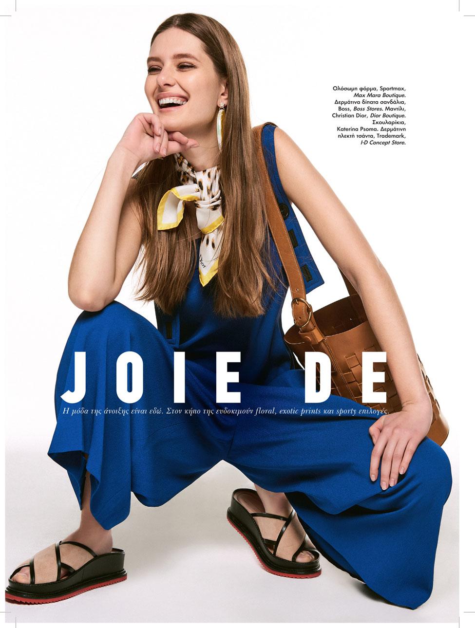 Anna has found her joie de vivre for Elle Mag.
