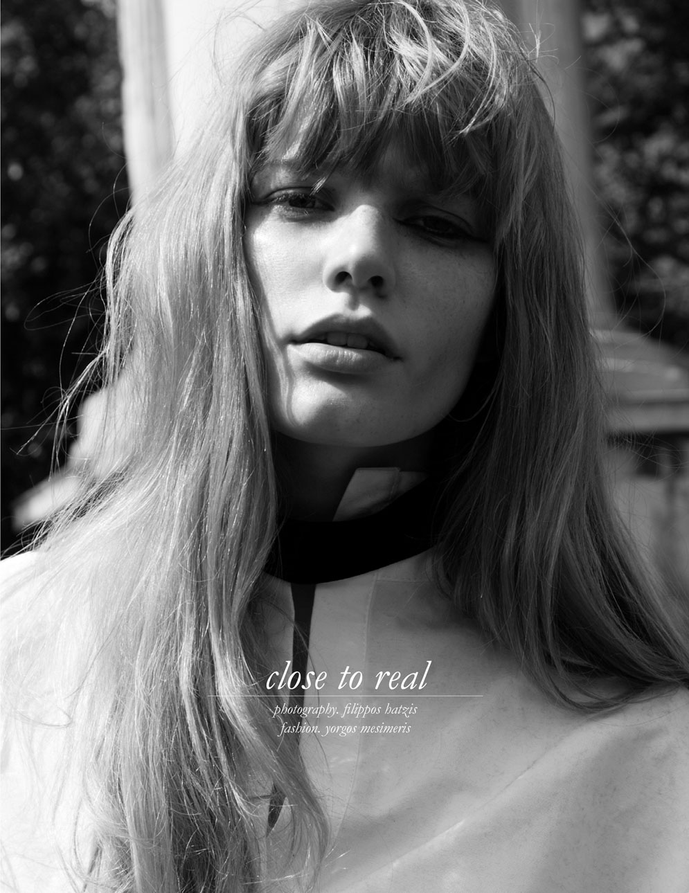 Real beauty is never vain : Clara Raddatz for Schön! Mag.