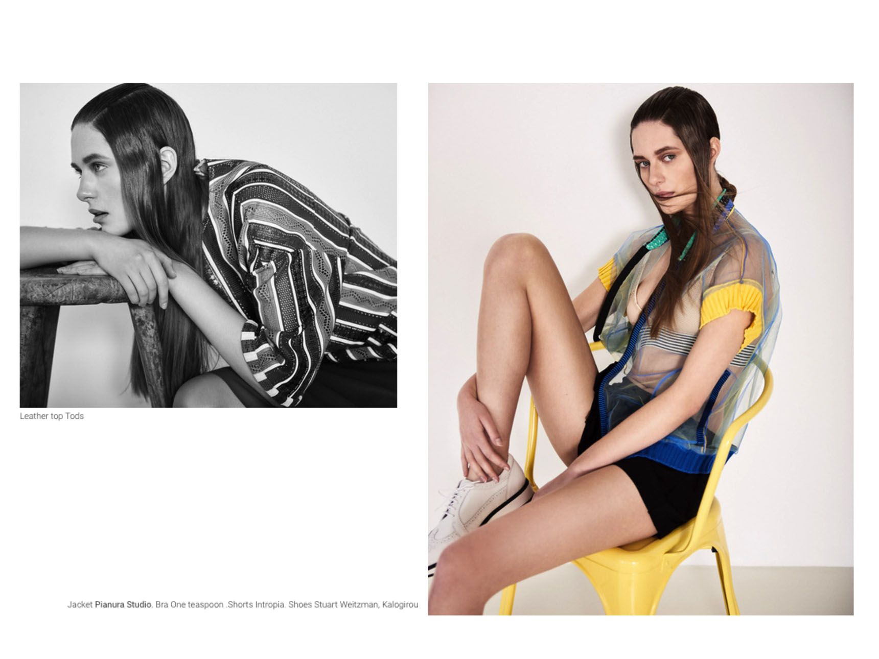 Anna is channelling the spirit of spring for The Code Mag.