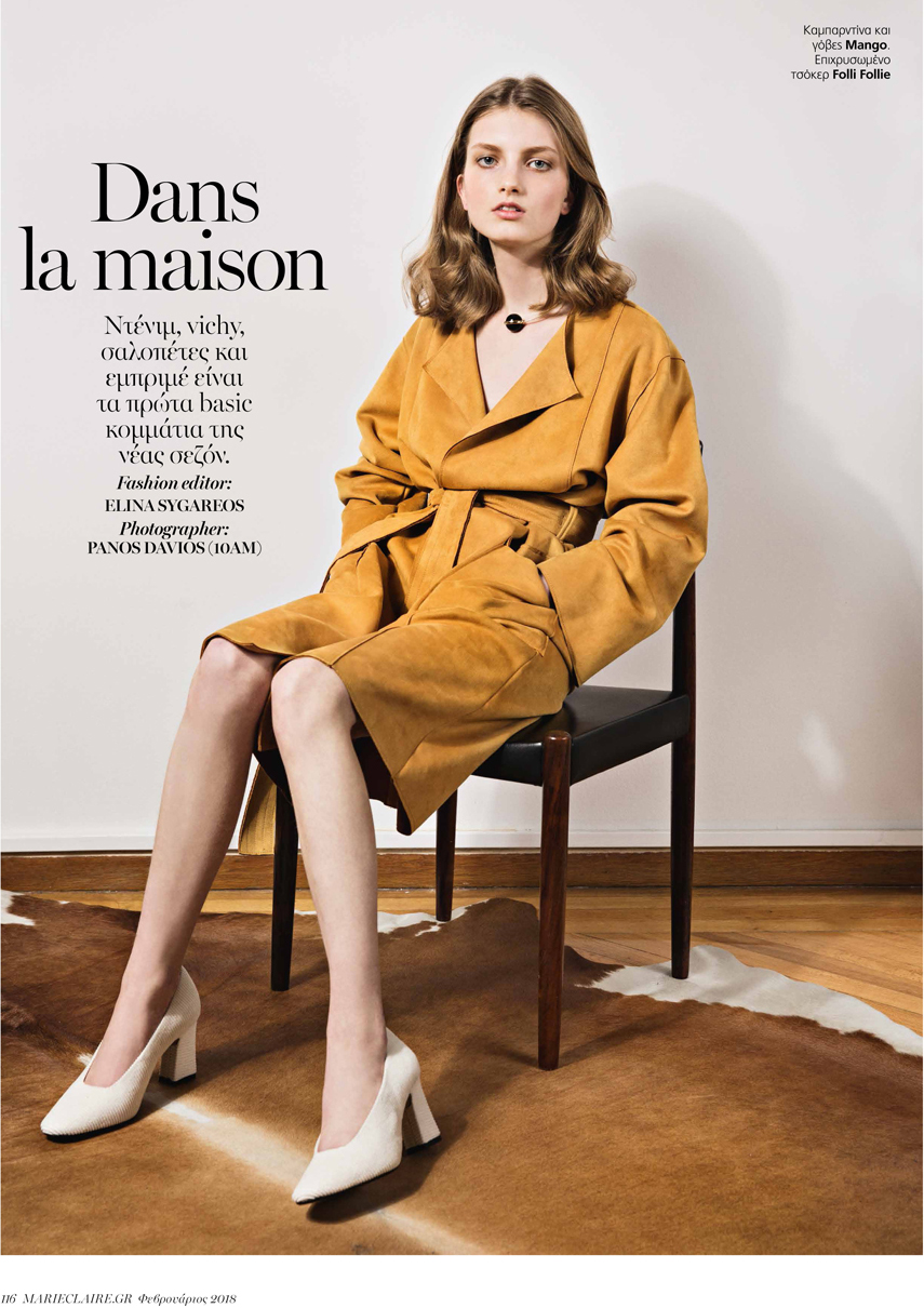 Kristin Drab for Marie Claire