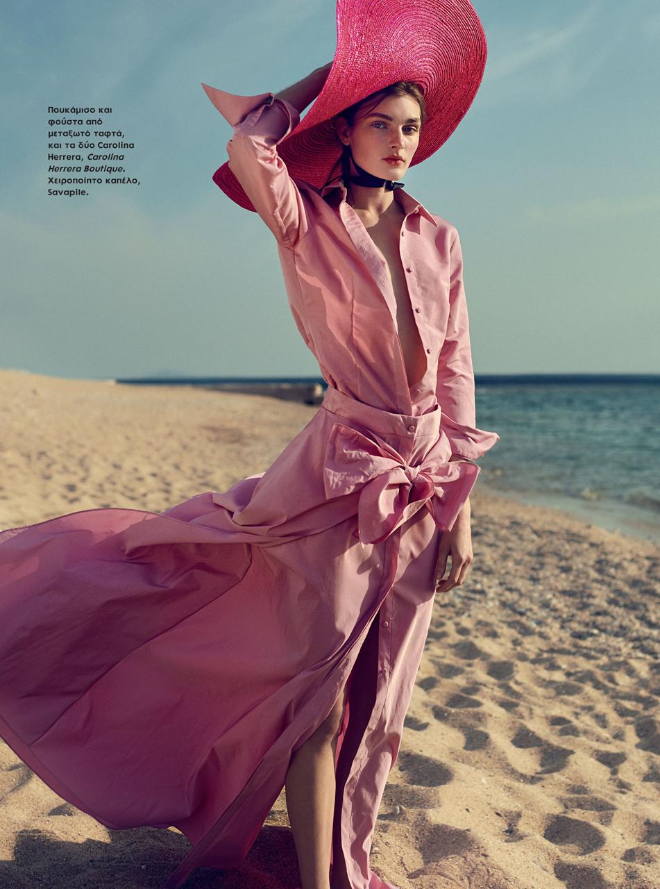 Nastya Abramova for Elle