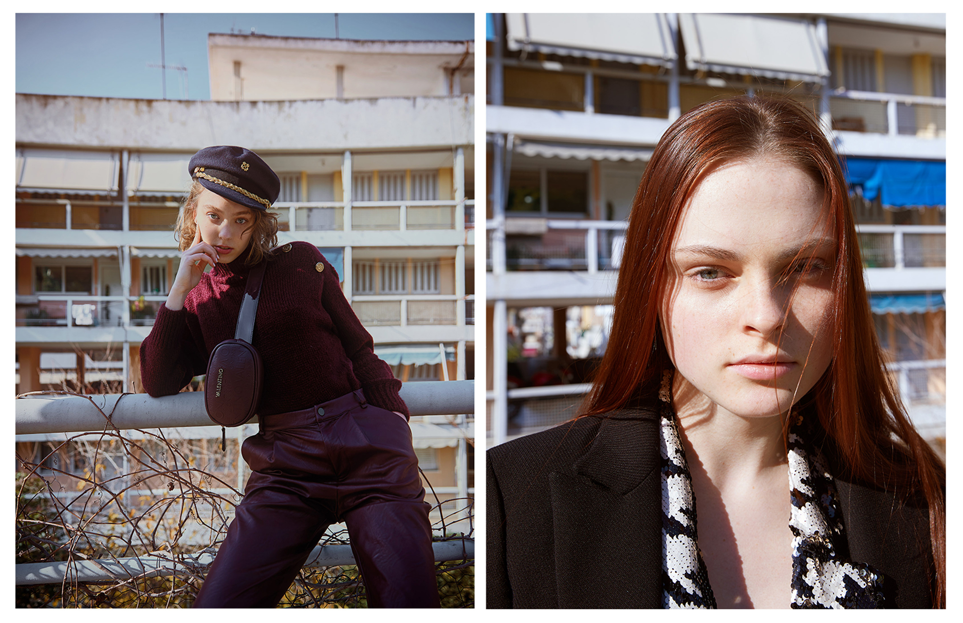 Madi Blitek and Amalia Evstratova for Mirror