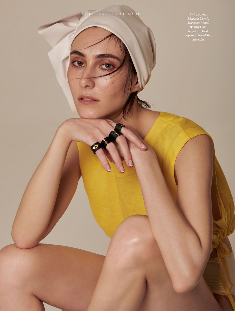 Angeliki Tsionou for Vogue