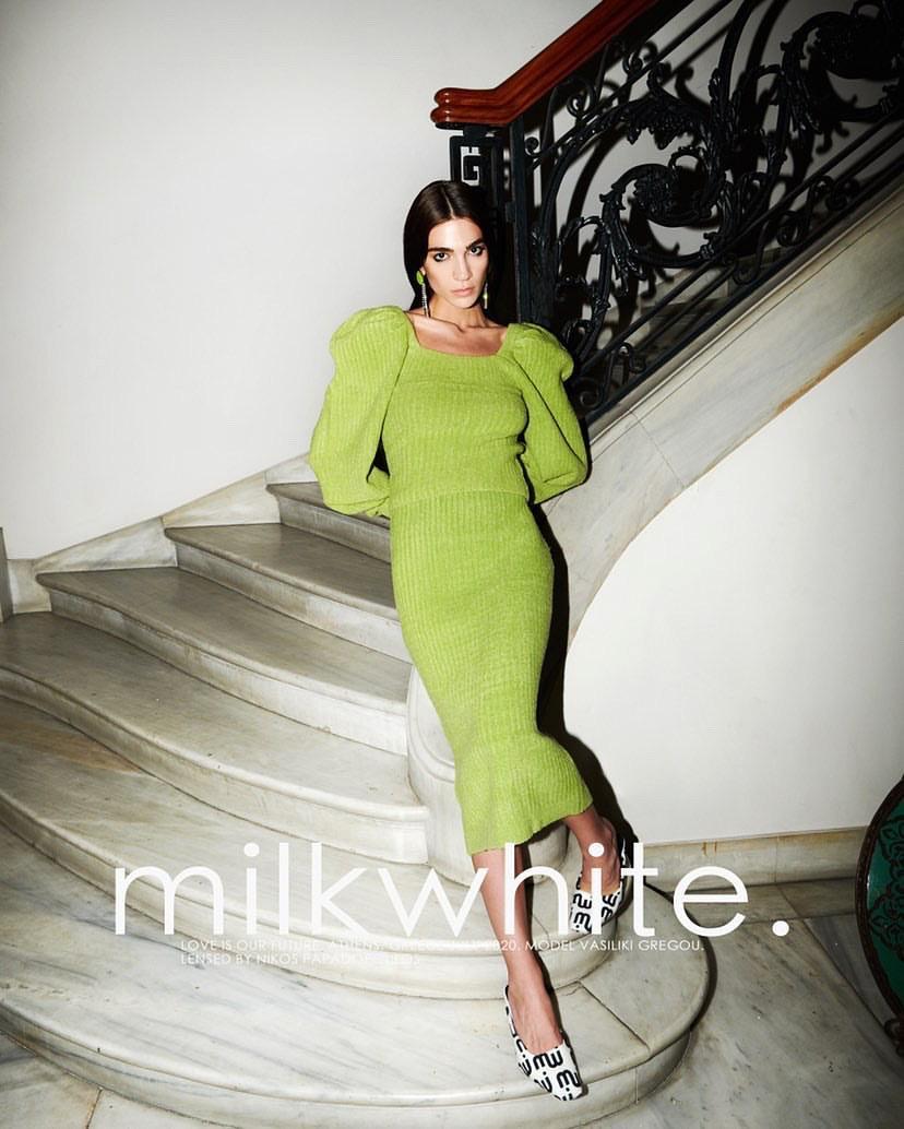 Vasiliki Gregou for Milkwhite
