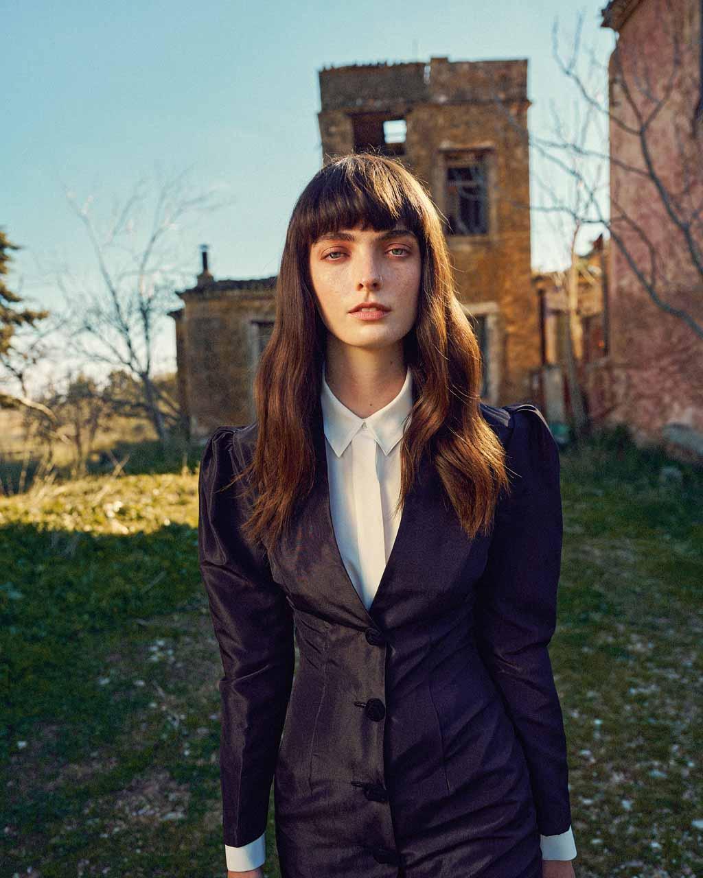Freya Trice for OK magazine