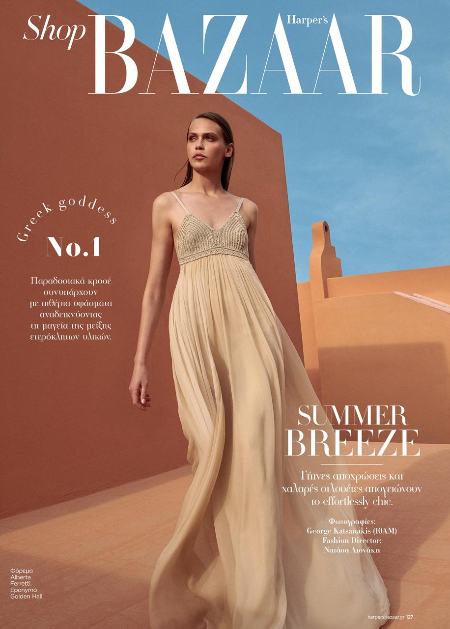 Julia Podlaszewska for Harper's Bazaar