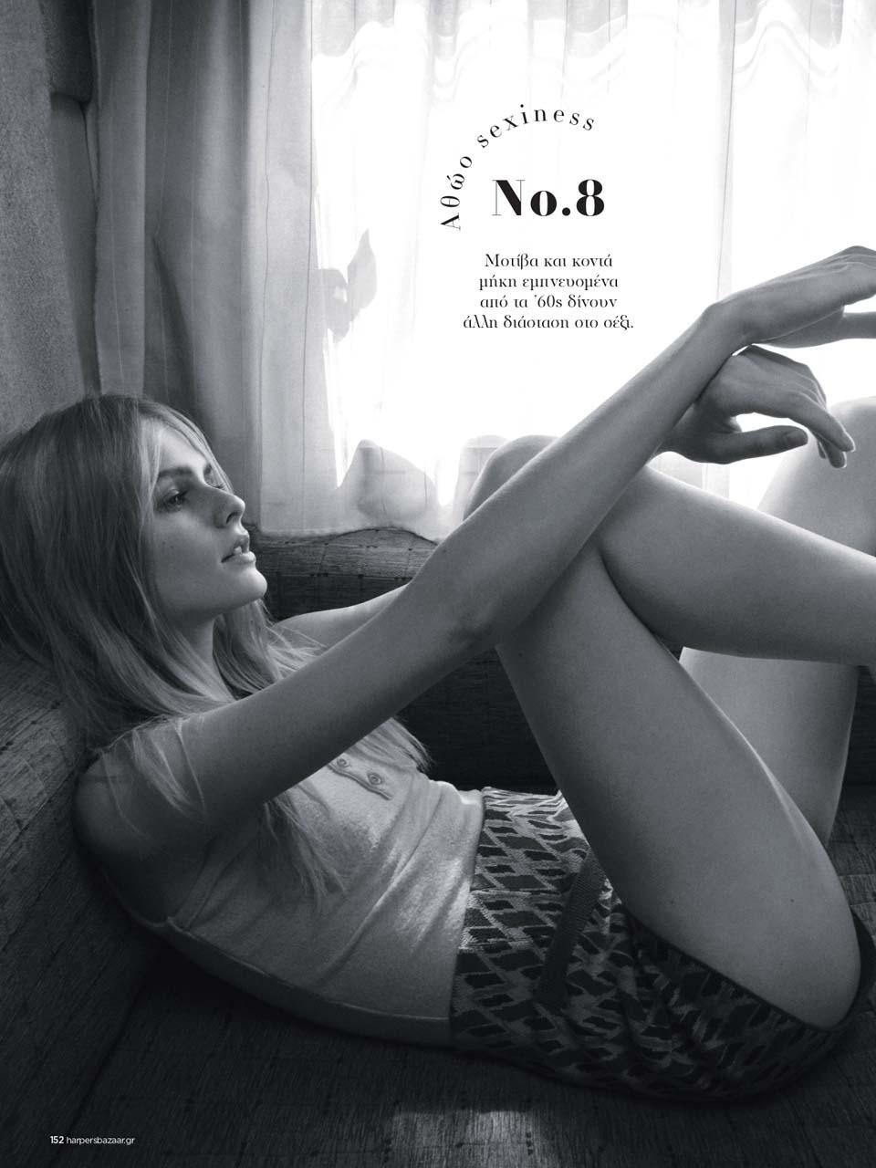 Feya Voishcheva for Harper's Bazaar